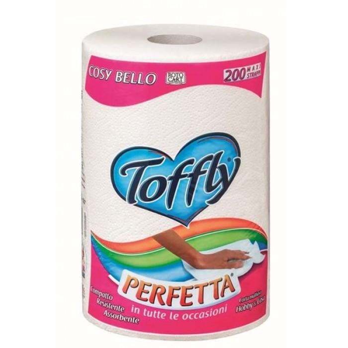 Hartie de bucatarie Toffly Perfetta 200 folii