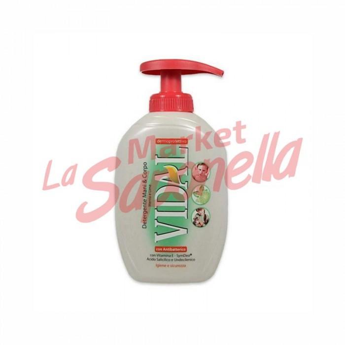 Sapun lichid Vidal antibacterian 300 ml
